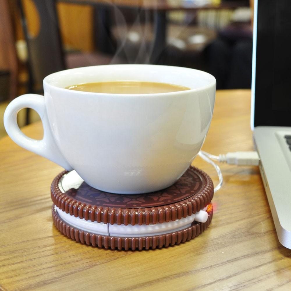 Trendy Weihnachtsgeschenke: Tassenwärmer in Cookie-Form
