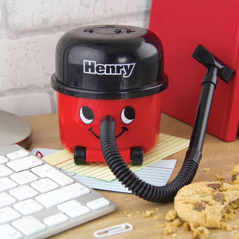 Trendy Weihnachtsgeschenk Nr 2: Henry der Mini-Staubsauger