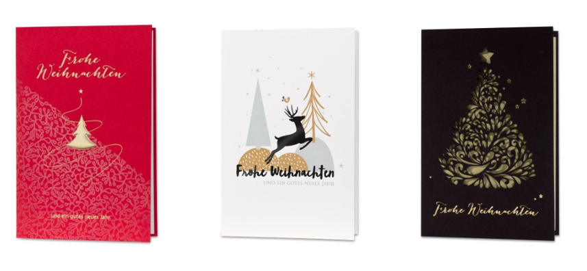 Weihnachtskarten Büro.Bueromackarten De